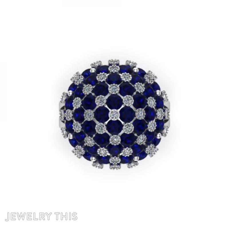 Cocktail Ring, Rings, Cocktail, image 4