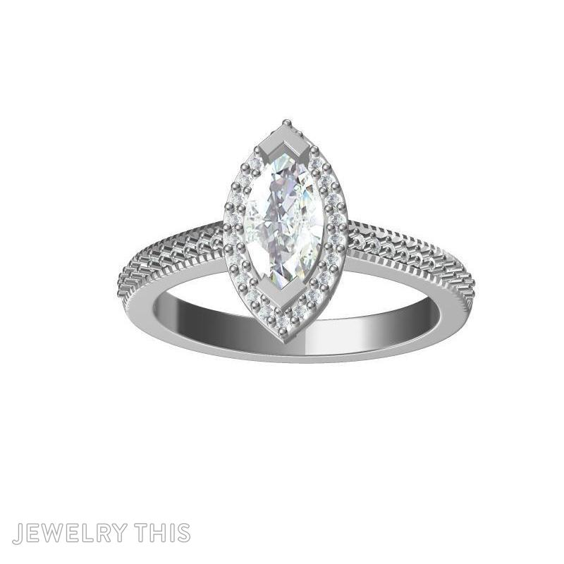 Marquise, Rings, Engagement, image 3