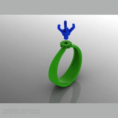 3D Jewelry Design: Solitare Mystique » Jewelrythis ~ Jewelry