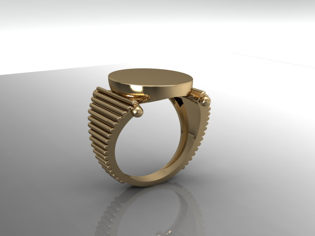 3D Jewelry Design: Blank Signet Ring » Jewelrythis