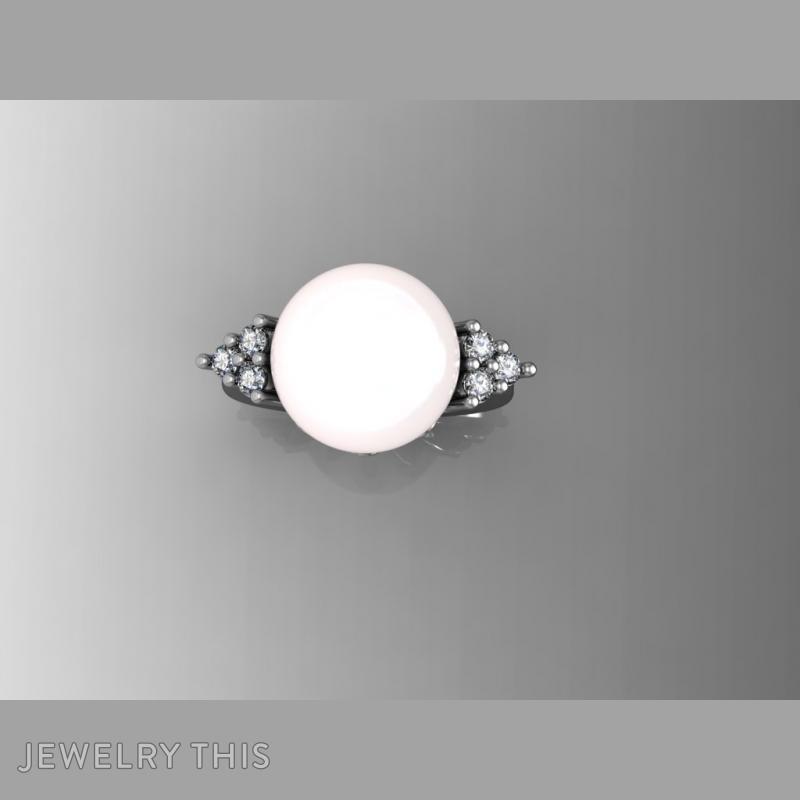 Pearl, Rings, Fashion, image 3