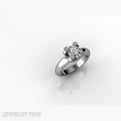 Clasic One Stone, Rings, Engagement