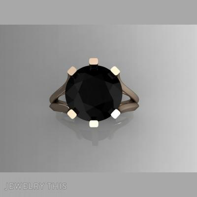 Black Diamond, Rings, Fashion