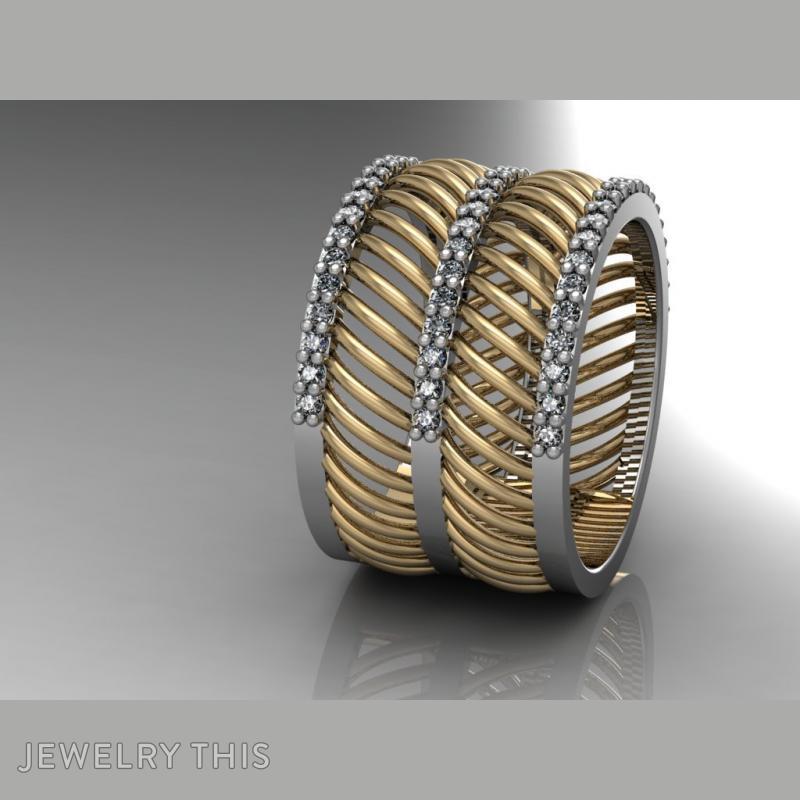 Curves Ring, Rings, Fashion, image 2