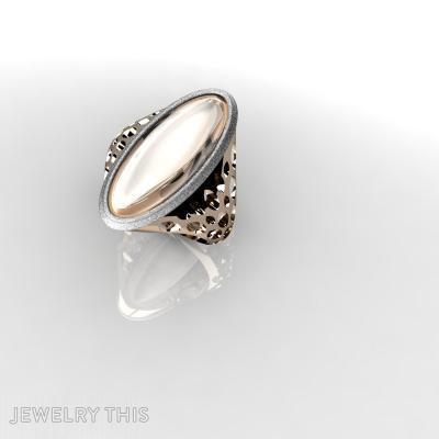 Caramel, Rings, Fashion
