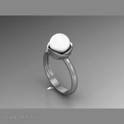 Pearl, Rings, Fashion