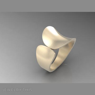 Fashion Ring, Rings, Concave