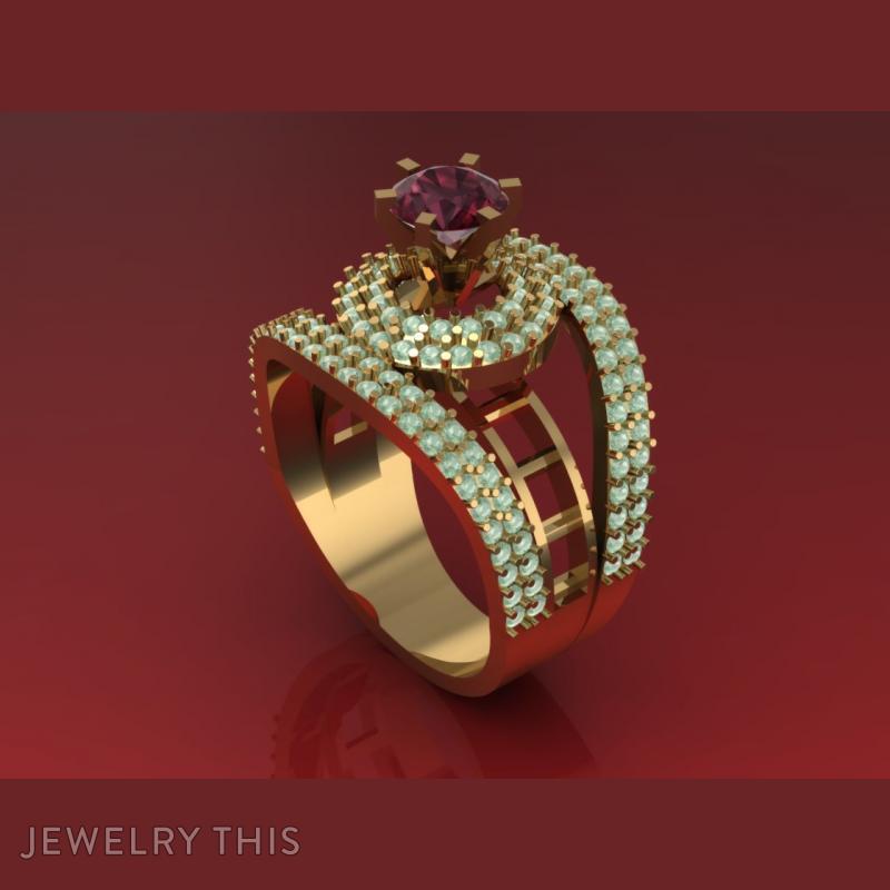 I Think U Love It, Rings, Wedding