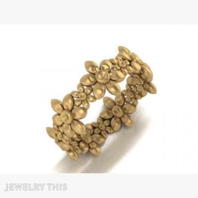 Flower, Rings, Promise