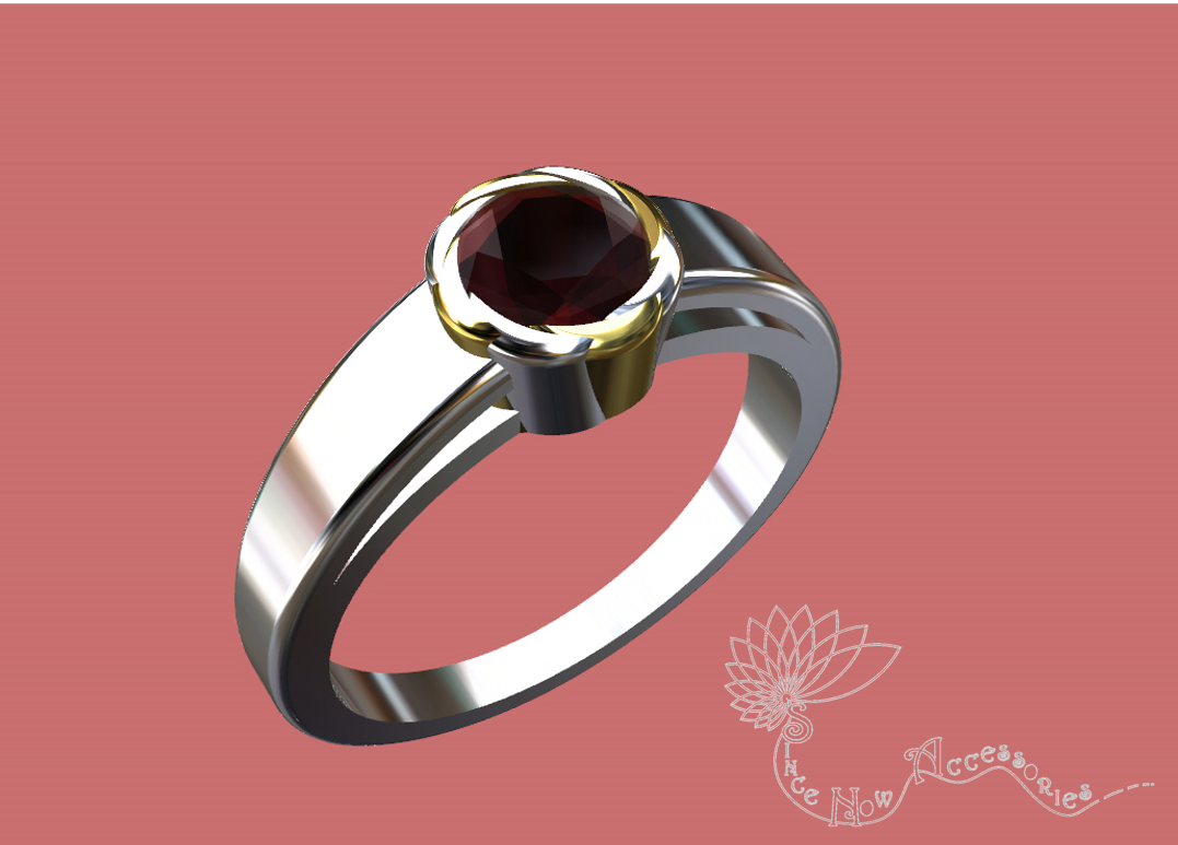 3D Jewelry Design: Petal Solitaire » Jewelrythis