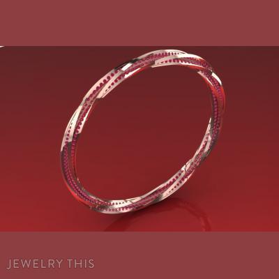 Rolercoster, Bracelets, Bangle