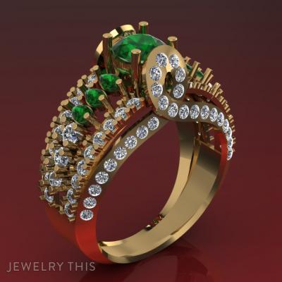 Design For Lush, Rings, Wedding