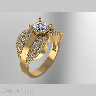Flower, Rings, Wedding