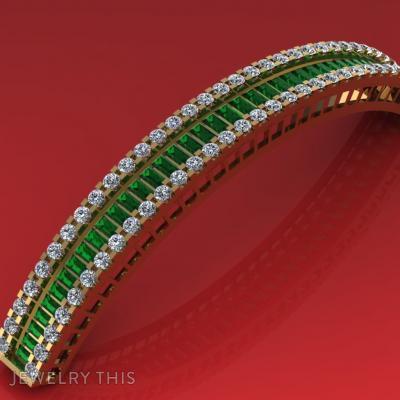 Lush In, Bracelets, Bangle