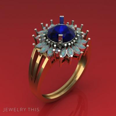 Lush In, Rings, Wedding