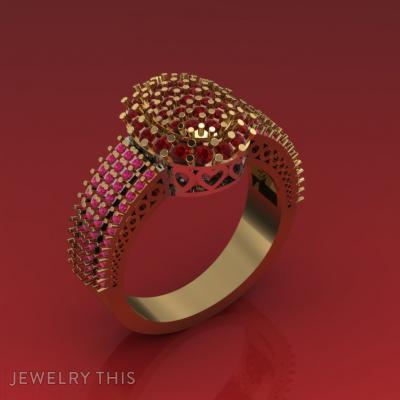 Lush In, Rings, Fashion
