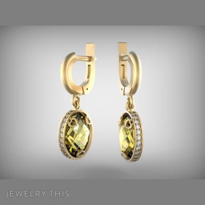 Beautiful, Earrings, Chandelier (Dangle)