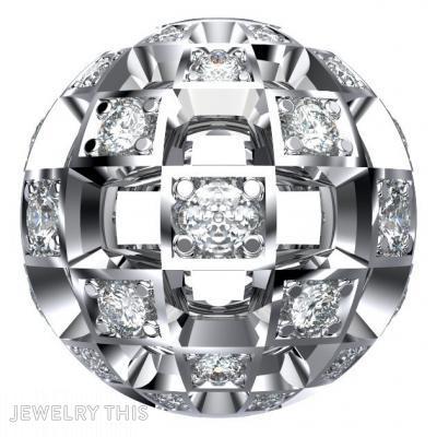 Diamond, Pendants, Ball