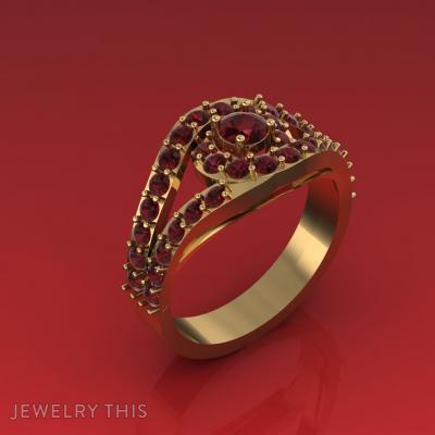 Lush Ring, Rings, Engagement