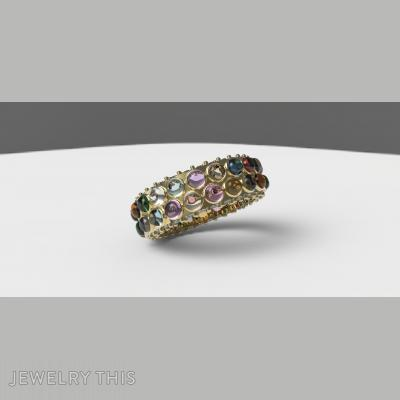 Lucky, Rings, Eternity Band