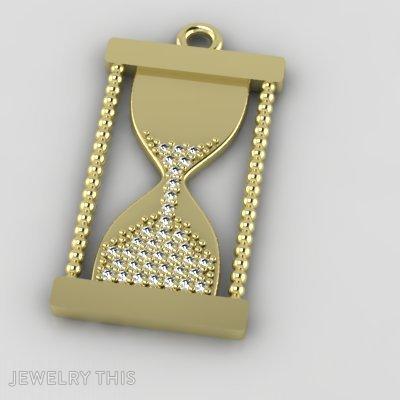 Golden Sand Clock, Pendants, General