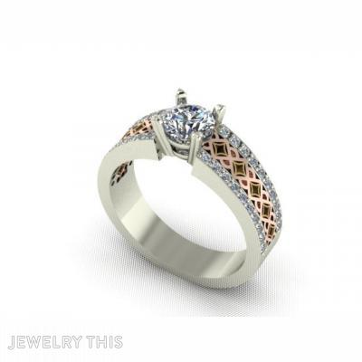 Inlay Design, Rings, Engagement