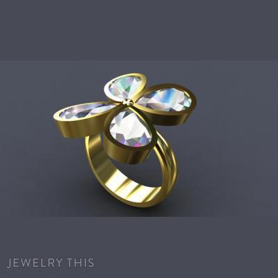 Four Petals, Rings, Fashion