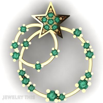 Circles And Star, Pendants, General