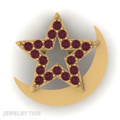 Star And Moon, Pendants, General