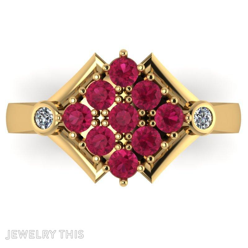 3d Jewelry Design Fashion Ring 37058 Jewelrythis