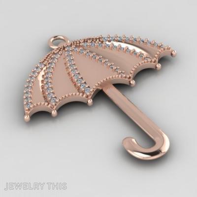 Umbrella-Shaped, Pendants, General