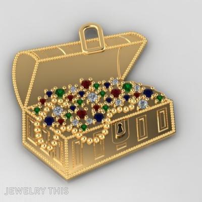 Golden Treasure Chest, Pendants, General