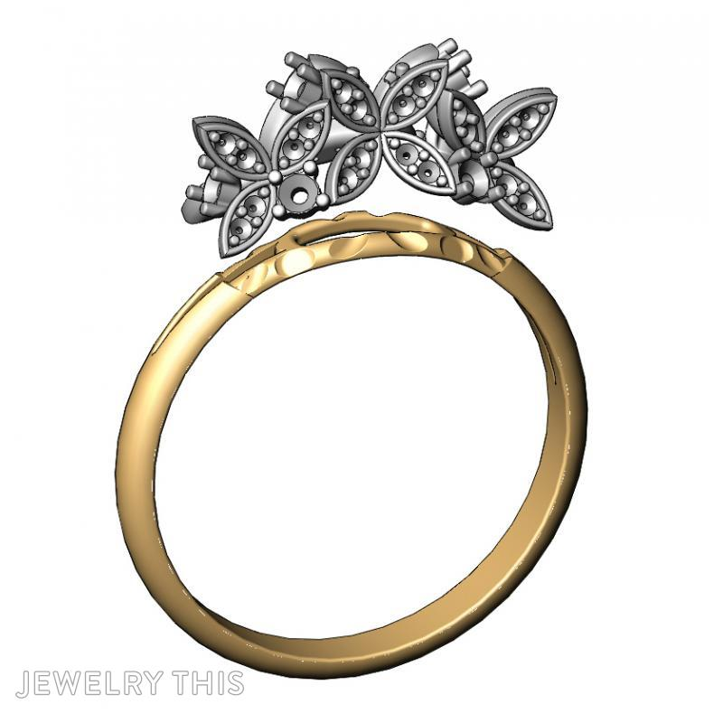 Butterflies, Rings, Fashion, image 5