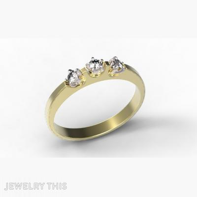 Gold And Diamond, Rings, Mother's