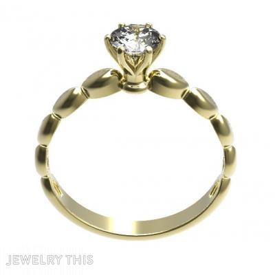 Gold And Diamond, Rings, Engagement
