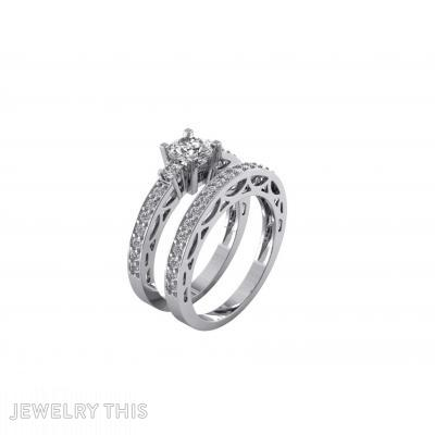 Wedding Set, Rings, Engagement