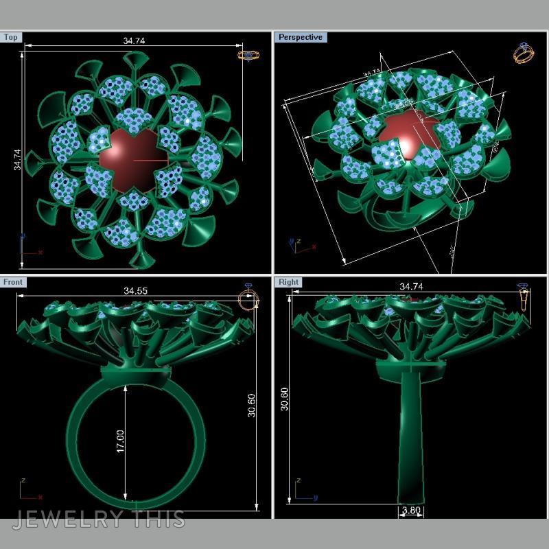Fashion Ring, Rings, Fashion, image 2