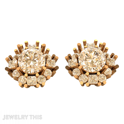 Stud (Post) Earring, Earrings, Stud (Post)