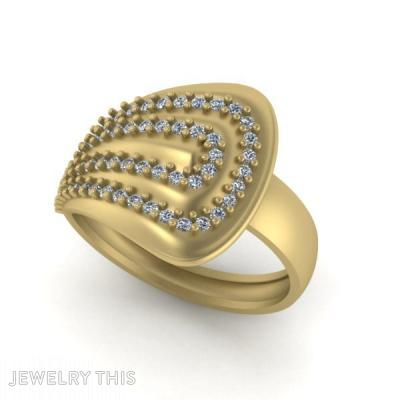 Golden, Rings, Fashion