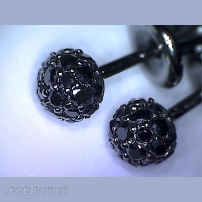 Sphere, Earrings, Stud (Post)
