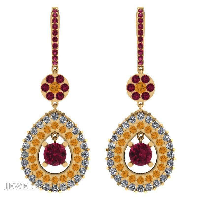 Drop Earring, Earrings, Drop, image 5