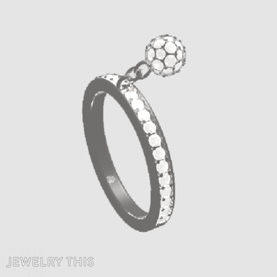 Sphere-Charm-Ring, Rings