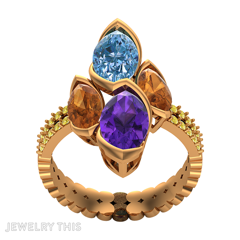 3d Jewelry Design Fashion Ring Jewelrythis