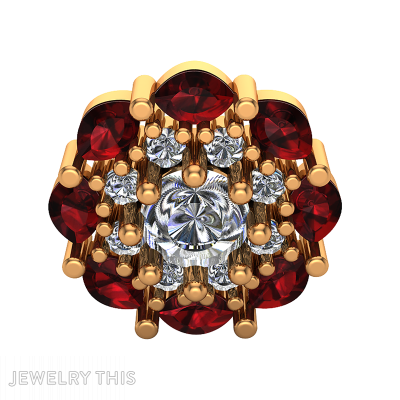 Jeweled Brooches (pin), Brooches (pin), Jeweled