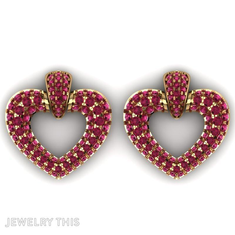 Stud (Post) Earring, Earrings, Stud (Post), image 2