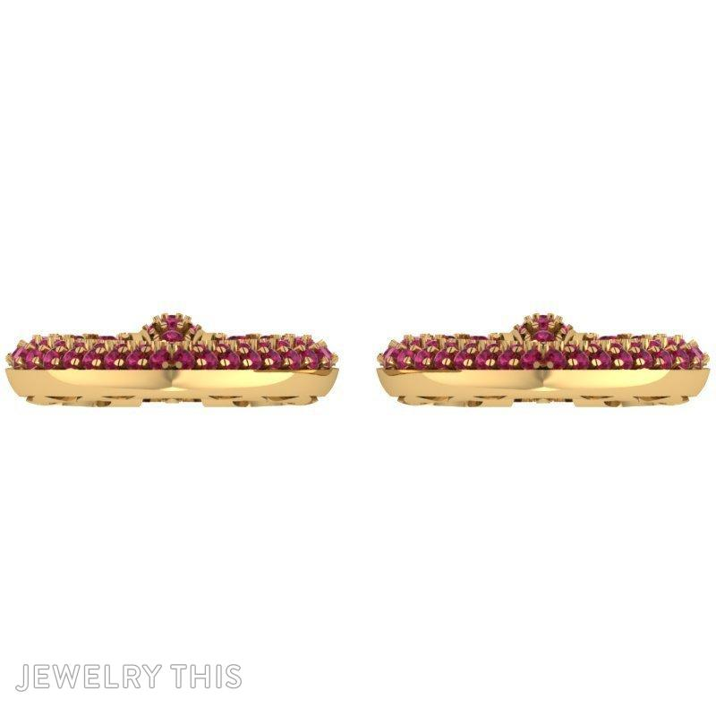 Stud (Post) Earring, Earrings, Stud (Post), image 3