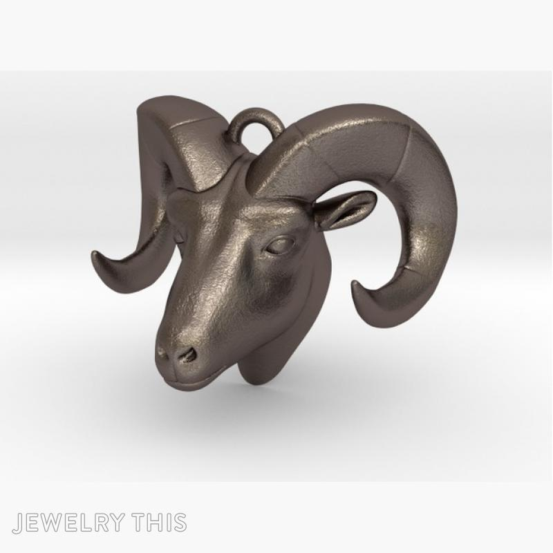 Ram Head Stl Ring