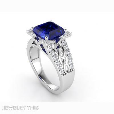 Ring Leaf03, Rings, Fashion