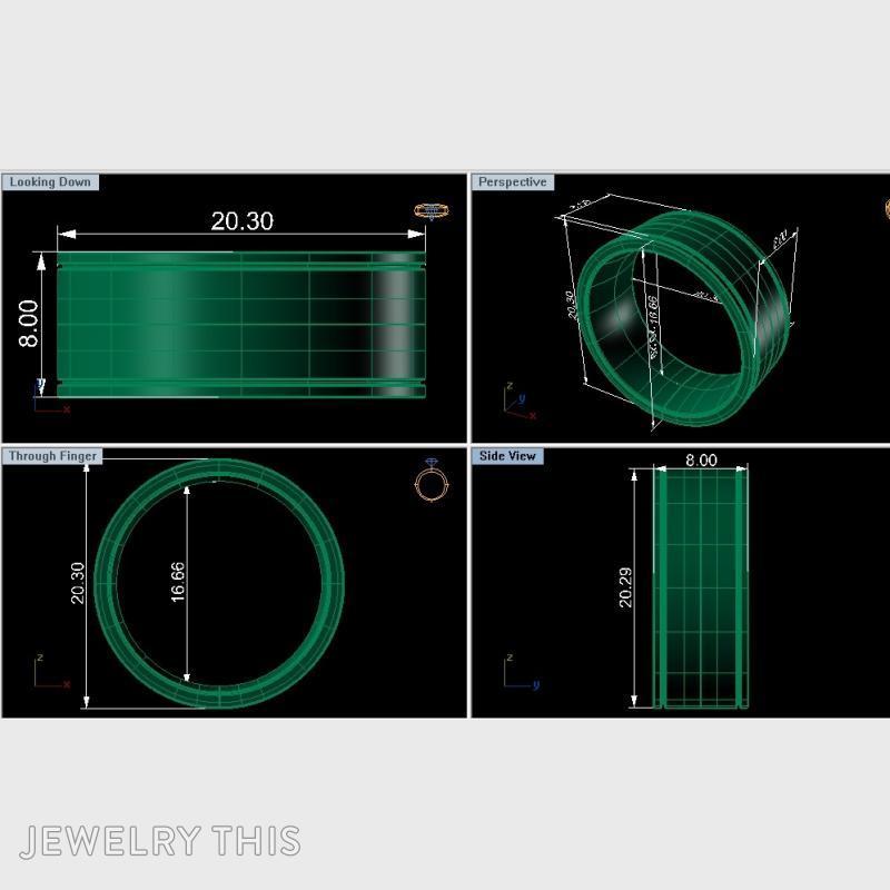 Men's Ring, Rings, Men's, image 4
