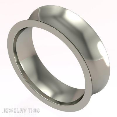 Concave Ring, Rings, Concave